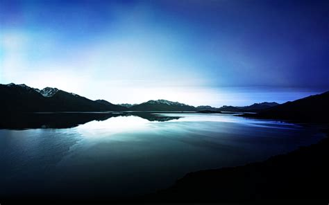 dark lake view reflections wallpapers hd wallpapers id