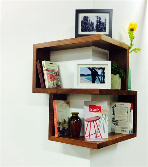 Franklin Wrap Around Shelf  Hand Crafted ? Modern Wow