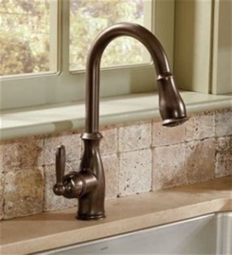Moen Brantford Kitchen Faucet Rubbed Bronze by Moen Brantford Faucets At Faucet Depot