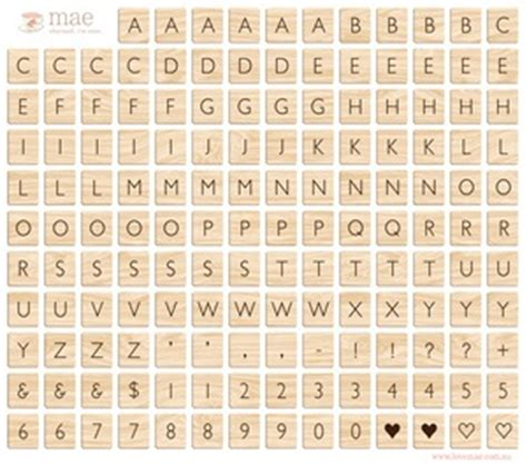 Printable Scrabble Tiles Pdf by Printables For Scrapbooking And Cardmaking A Collection
