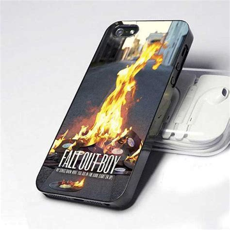 Fall Out Boy iPhone 5 4 4S Case by OlivHans on Etsy ...