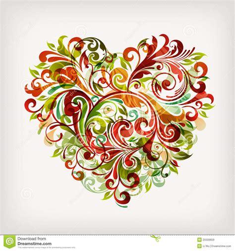 bloem hart bloemen hart royalty vrije stock afbeeldingen afbeelding