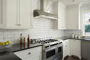 how to choose the right backsplash for your granite With two reasons subway tile backsplash best choice