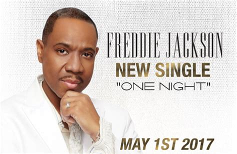 R&b Singer Freddie Jackson To Release New Album