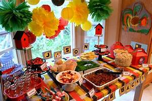 backyard picnic Welcome Home Party Ideas Photo 3 of 14