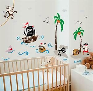 sticker pirates et bateau stickers animaux animaux de la With chambre bébé design avec envoyer des fleurs en russie