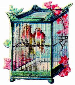 Vintage Bird Cage Clipart - Clipart Suggest