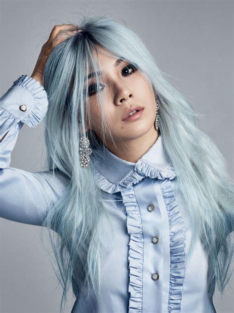blue hair dye yeah cl official