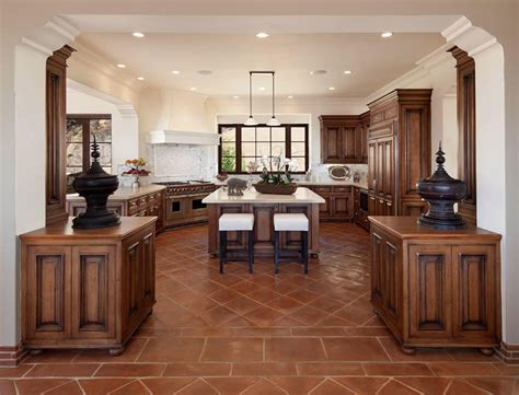 25 Beautiful Spanish Style Kitchens (design Ideas Kitchens Country Style Kitchen Cabinets Organization Storage Wall Modern Lamps Corner Cabinet South Park Buffet Tray Red Brick