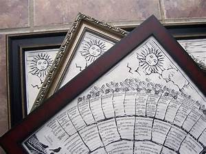 Family Tree Posters To Fill In Blank Family Tree Charts 2 Per Order For New Baby