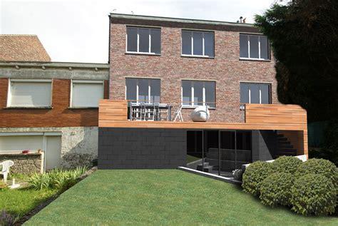 Extension D'une Maison Belétage  Dc Architecture
