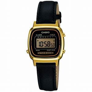 Montre Vintage Casio : montre casio retro vintage la670wegl 1ef montre retro cuir femme sur bijourama montre femme ~ Maxctalentgroup.com Avis de Voitures