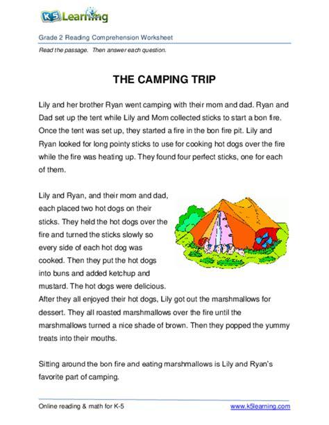 learning comprehension preschool  worksheets
