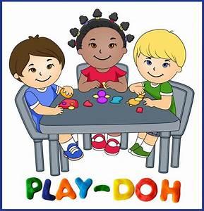 Children playing playing kindergarten clipart kid 2 ...