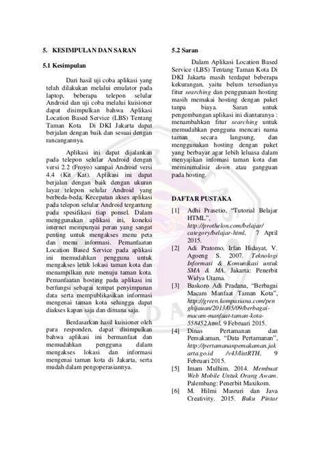 contoh jurnal skripsi gunadarma