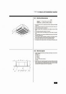 Mitsubishi Mr Slim Bg79s983h01 Plh 2 2 5kkc Ceiling