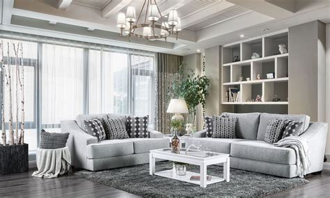 Jul 01, 2021 · far from being boring, using grey allows for serene designs that can simultaneously boast sophistication and can also develop looks that are bold, steely, and dramatic. Lesath Light Gray Living Room Set - 1StopBedrooms.
