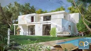 Maison Architecte Plan : maison moderne d 39 architecte architecte youtube ~ Dode.kayakingforconservation.com Idées de Décoration