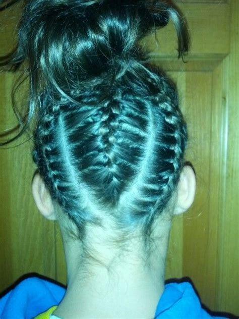 pin by frauke gohmert russell on gymnastics hair styles
