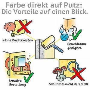 Putz Auf Putz Geht Das : farbe direkt auf putz streichen das sollten sie beachten ~ A.2002-acura-tl-radio.info Haus und Dekorationen