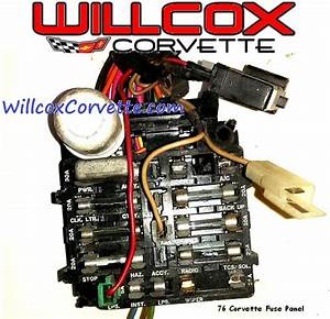 1988 Corvette Fuse Panel Diagram : 1976 corvette fuse panel willcox corvette inc ~ A.2002-acura-tl-radio.info Haus und Dekorationen