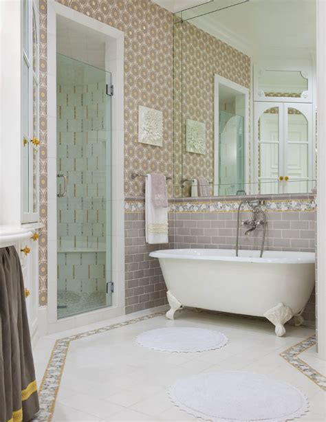 bathroom tile layout ideas 36 ideas and pictures of vintage bathroom tile design