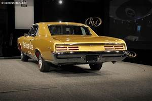 1967 Pontiac Tempest Gto Image  Chassis Number