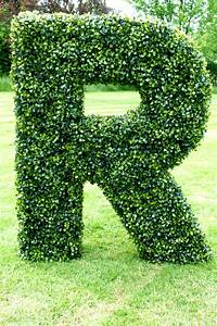 artificial boxwood letters With faux boxwood letters