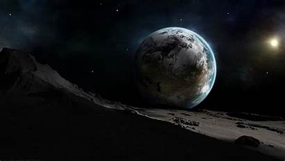 Moon Earth Wallpapers Laptop Computer