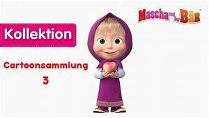 Bettwäsche Mascha Und Der Bär : mascha und der b r cartoonsammlung 3 30 minuten youtube ~ Buech-reservation.com Haus und Dekorationen