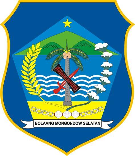 logo kabupaten bolmong selatan kumpulan logo lambang