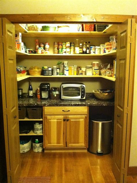 Converted laundry closet to pantry.   Home   Pinterest