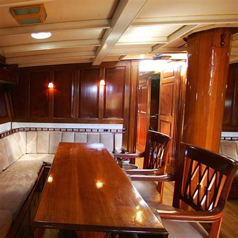 Wooden Boat Interiors by Photos Wooden Boat Interiors