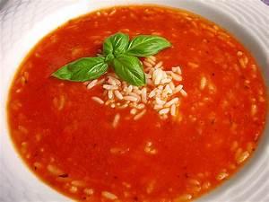 Tomatensuppe Rezept Einfach : tomatensuppe mit reis rezept mit bild von elfsche84 ~ Yasmunasinghe.com Haus und Dekorationen