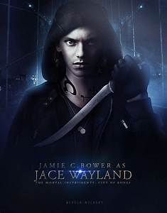 Jamie Campbell Bower as Jace Wayland. | The Mortal ...