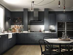 Black, Kitchen, Ideas, 13, Dark, And, Dramatic, Looks, To, Copy