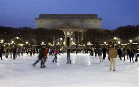 ice skating   national gallery  art  stop gw