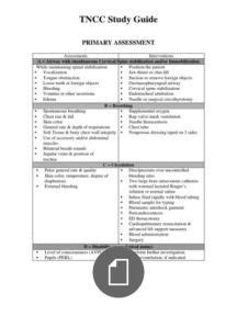 tncc study guide tncc pinterest nursing notes