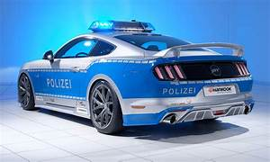 Germany's New Ford Mustang GT Police Car   Ford Authority