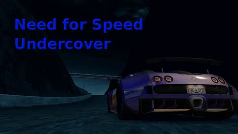 It's recorded on my pc: Need for Speed Undercover - Bugatti Veyron 16.4 - YouTube