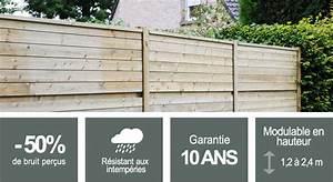 Palissade Anti Bruit : panneaux acoustiques am nager mon jardin ~ Premium-room.com Idées de Décoration