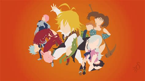 The Seven Deadly Sins Anime Wallpaper - 7 deadly sins wallpaper 66 images