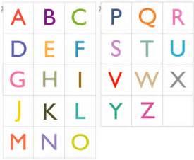 make an alphabet memory game