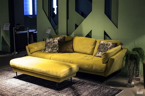 bright  comfy sofas  add color   living room