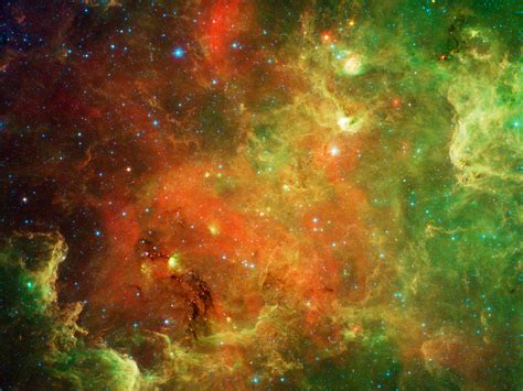 NASA - New View of Family Life in the North American Nebula