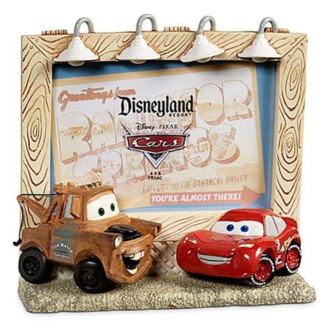 wdw store disney picture frame cars