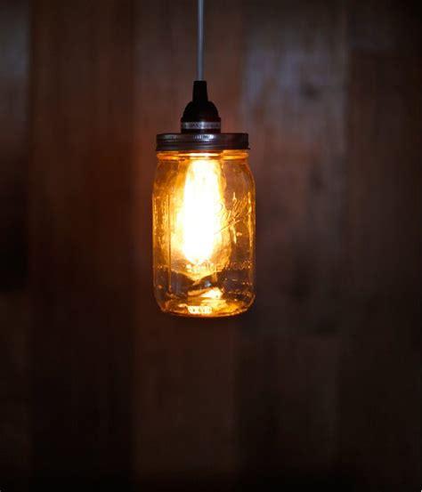 jar crafts vintage pendant lighting diy ready