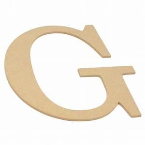 "10"" Decorative Wood Letter: G [AB2031] - CraftOutlet.com"