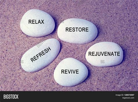 Wellness Spa And Beauty Concept  Relax Restore Refresh