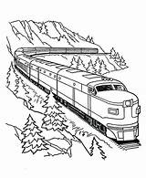 Train Coloring Pages Trains Christmas Bullet Lego Printable Drawing Duplo Procoloring Getcolorings Transportation Boats Buildings sketch template
